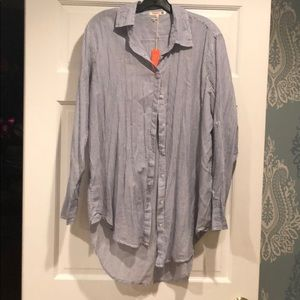 NWT Sundry Oversized Button Down